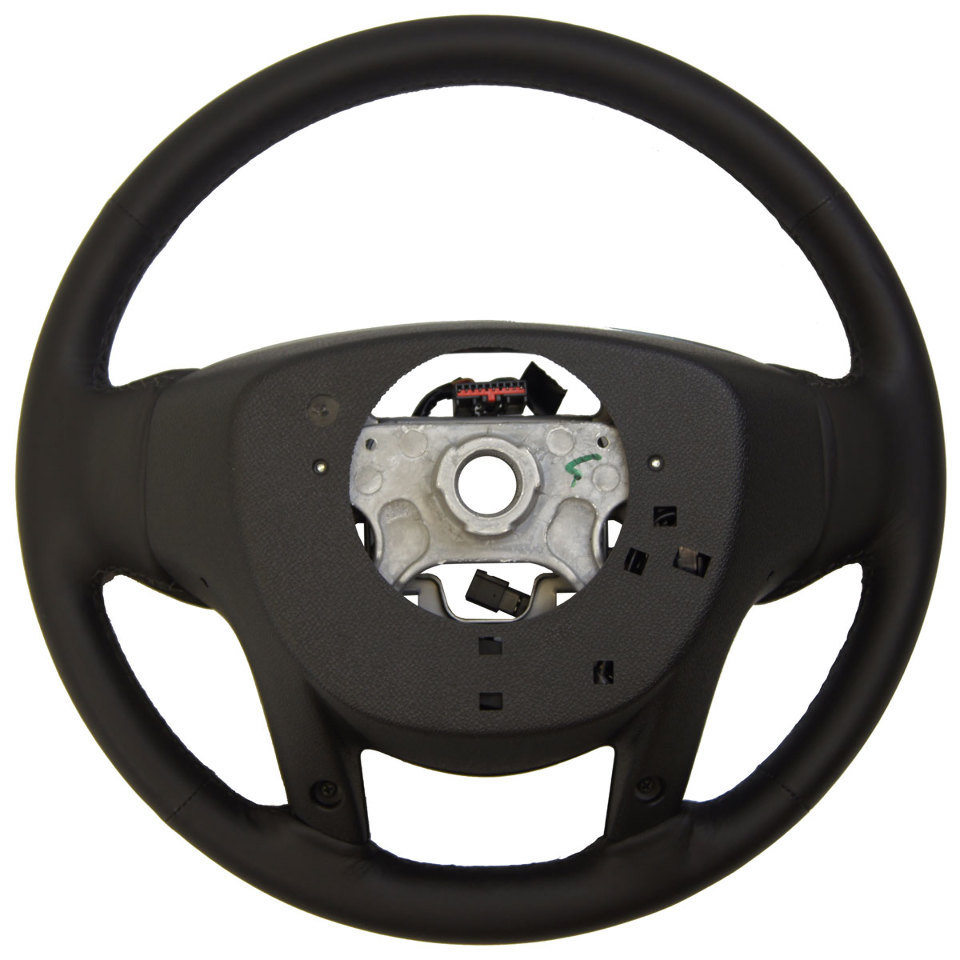 2013-15 Cadillac SRX Steering Wheel Black Leather New W ...