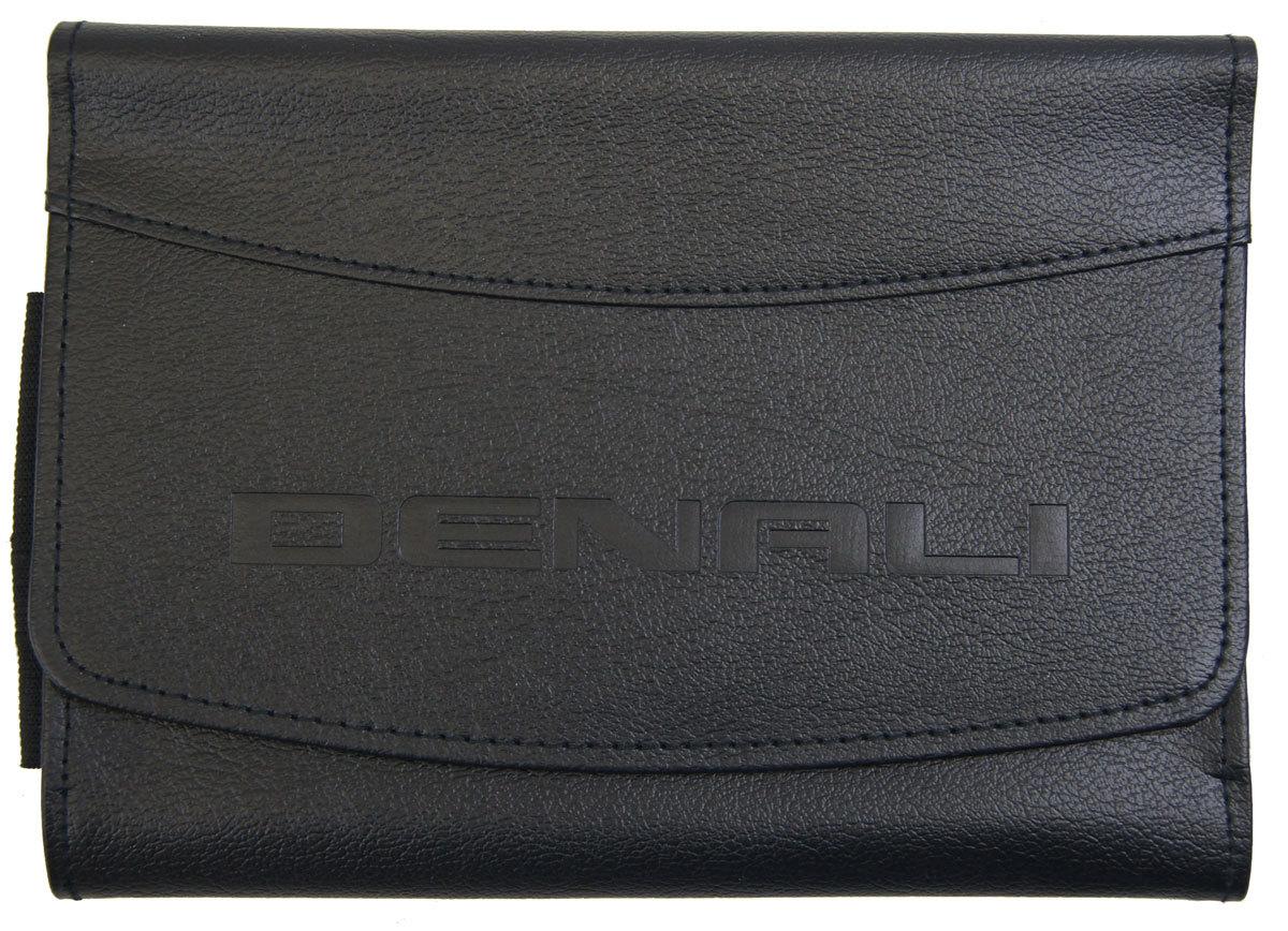 2015 gmc yukon denali  xl denali owners manual book w  leather case new 22953733 Chevrolet Owner's Manual Holder Case Repair Manual