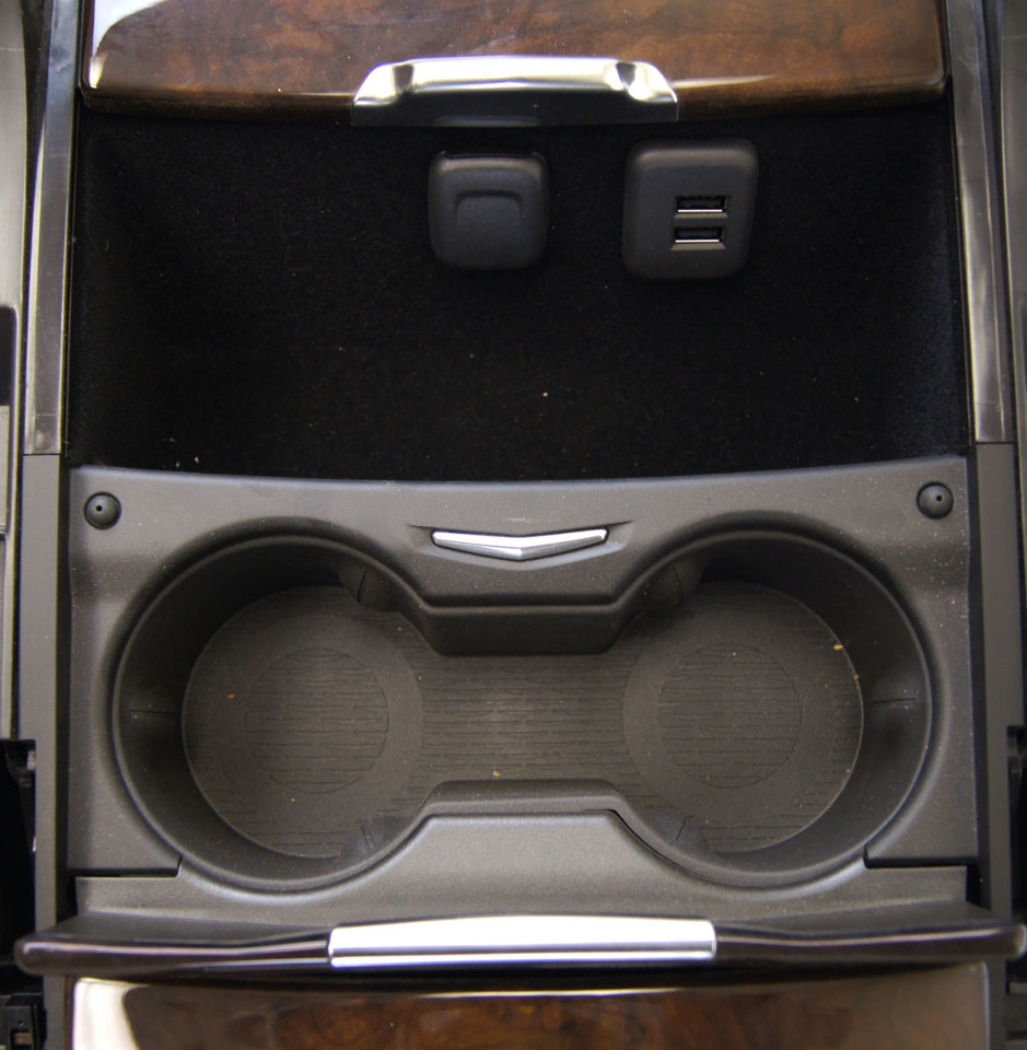 2015 Cadillac Escalade Center Console Shale W Woodgrain New 23245250 23468734 Factory Oem Parts