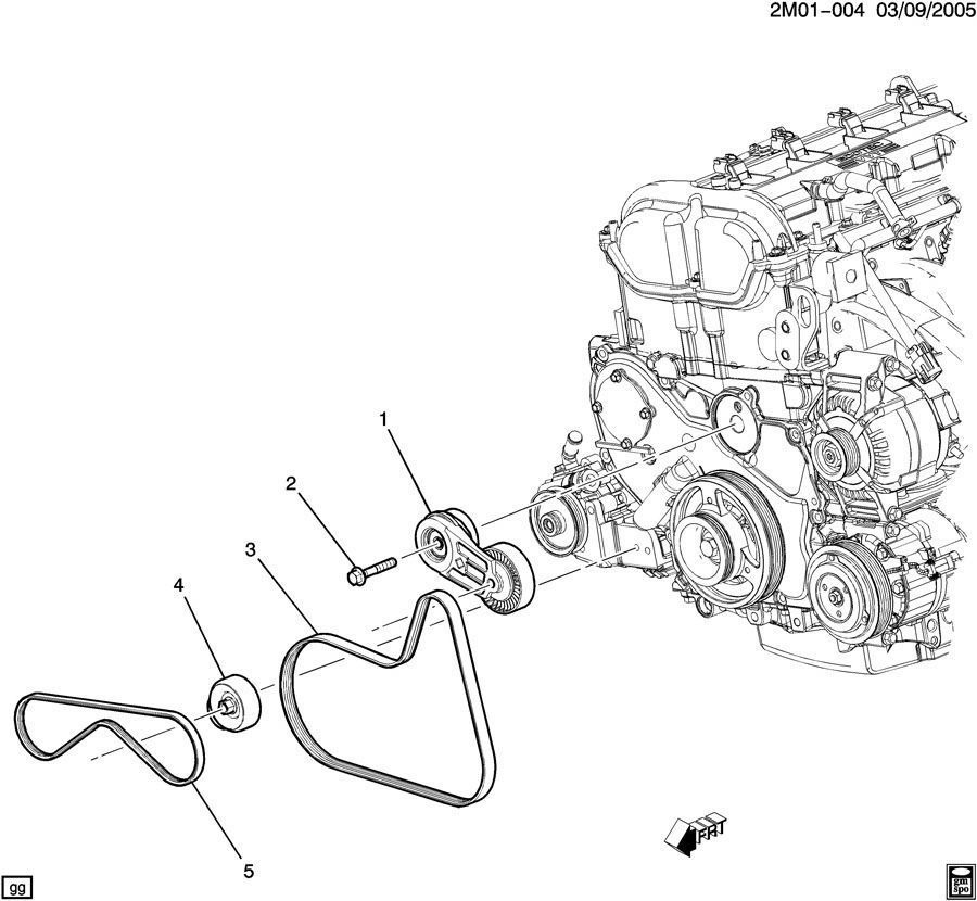 2007 vw jetta serpentine belt diagram