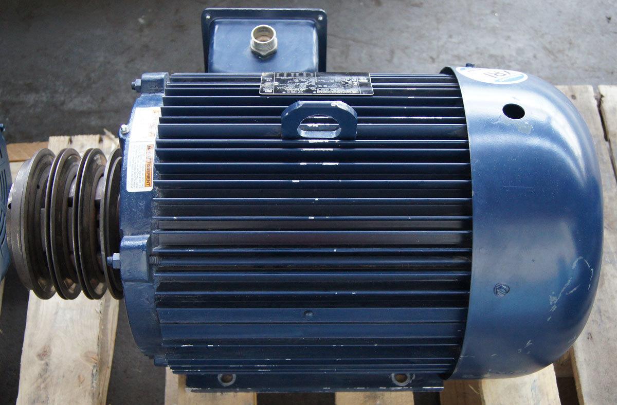 Marathon Electric Xri Motor 3 Phase 15hp 230 460v 1775rpm
