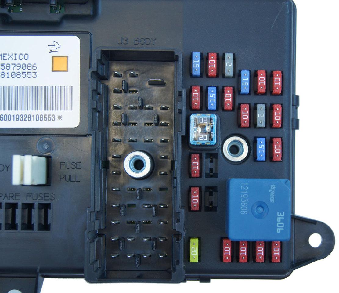 Where Is The Body Control Module On: 2008-2013 Corvette XLR Delphi Electronic Body Control