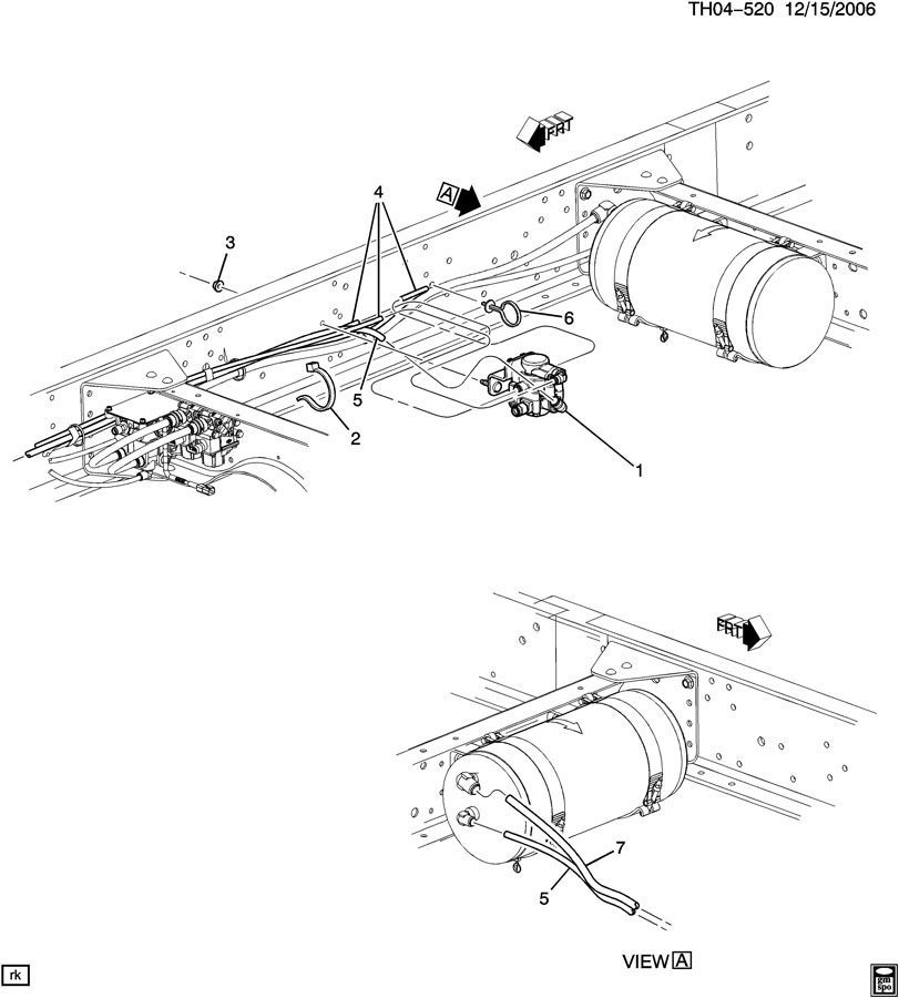 bendix trailer brake diagram