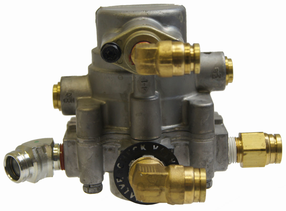 Bendix Air Brake System : Topkick kodiak parking air brake valve
