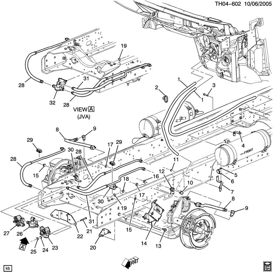 25916575 07 09 gmc topkick chevy kodiak electronic air brake control module 25916575 5 gmc c6500 wiring diagram gmc 5500 electrical diagram wiring  at virtualis.co