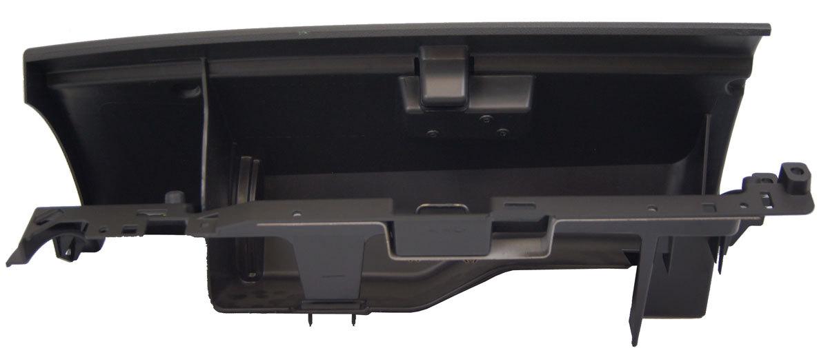 2008 2009 Hummer H2 Black Ebony Glove Box Door Amp Base New