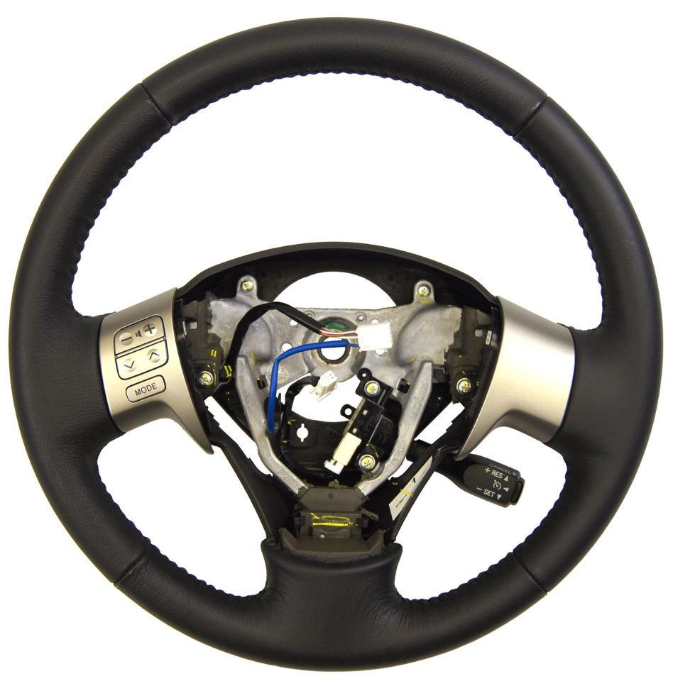 2009 2013 toyota matrix corolla steering wheel dark grey. Black Bedroom Furniture Sets. Home Design Ideas
