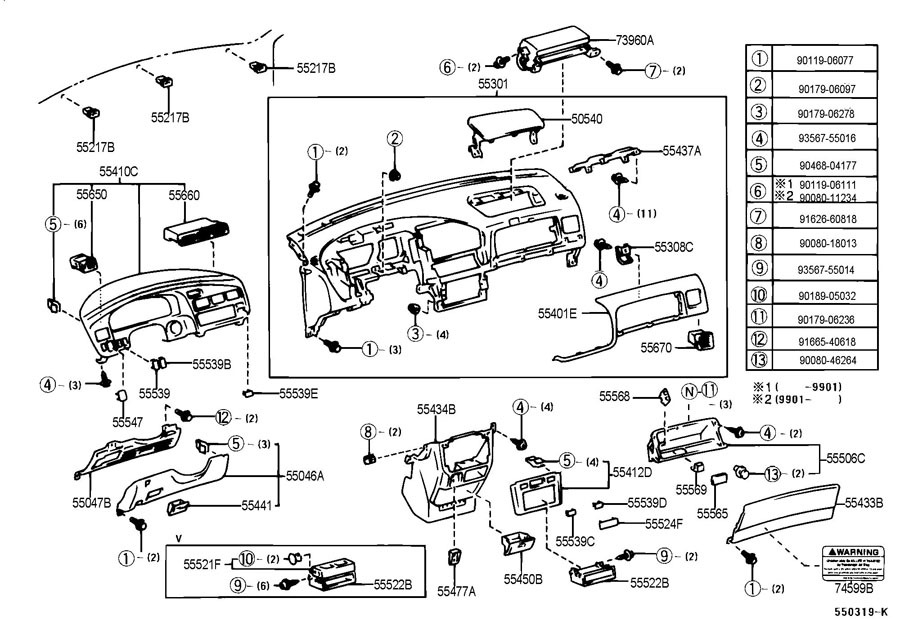 service manual  auto body repair training 2001 toyota
