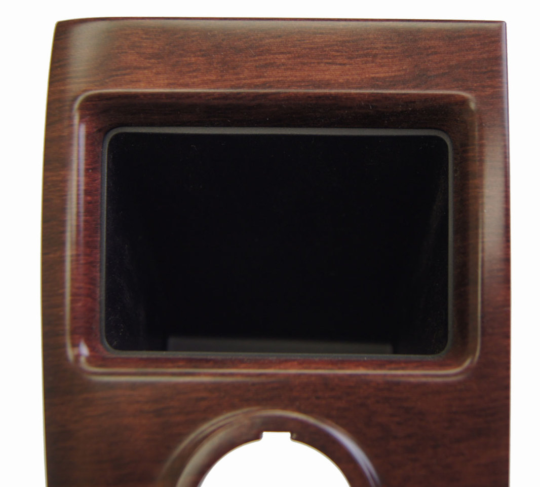 2011 2014 toyota sienna dash switch bezel w pocket brown woodgrain 5544608051e0 factory oem parts. Black Bedroom Furniture Sets. Home Design Ideas