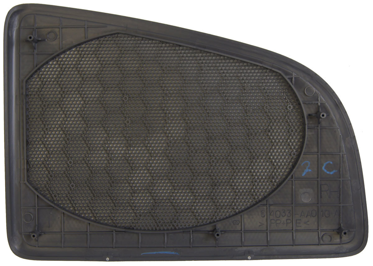 1997 1998 toyota camry right rear speaker grille blue grey new oem 64033aa010b0 factory oem parts. Black Bedroom Furniture Sets. Home Design Ideas