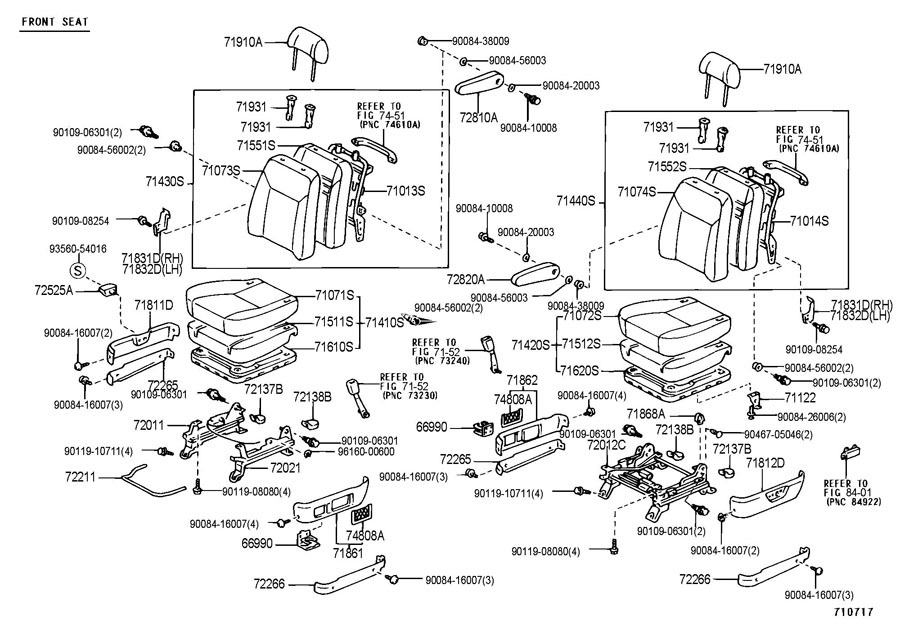 71811ae010e0 1998 2003 toyota sienna pass seat rh lower side trim oak 71811ae010e0 5 gmc sierra seat diagram trusted wiring diagrams