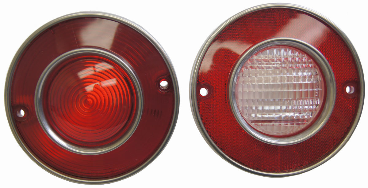 1975 1979 Chevy Corvette C3 Tail Light W Backup Light Set