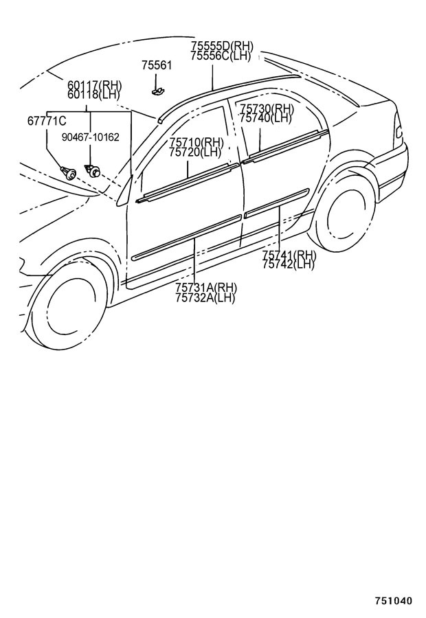 Corolla Brake Diagram