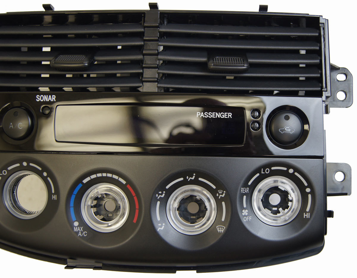 2006 2010 toyota sienna temp control panel w sonar new oem. Black Bedroom Furniture Sets. Home Design Ideas