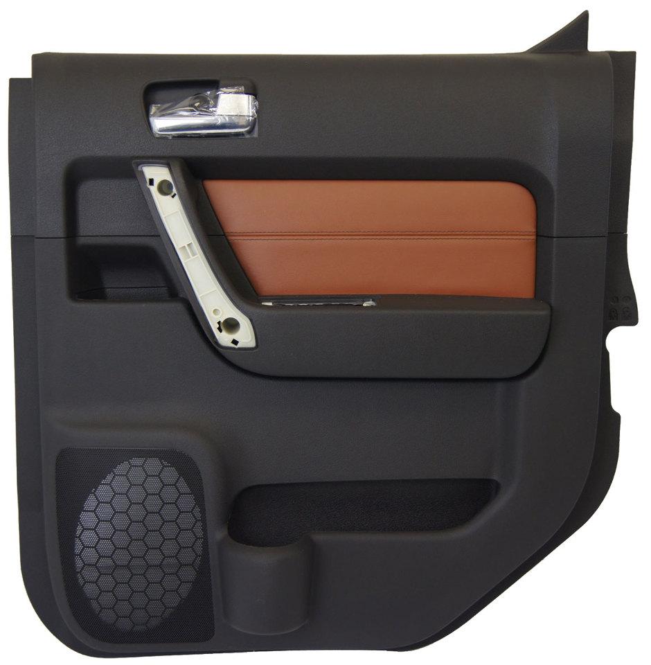 2009 2010 hummer h3t right rear door panel ebony morocco for New back door