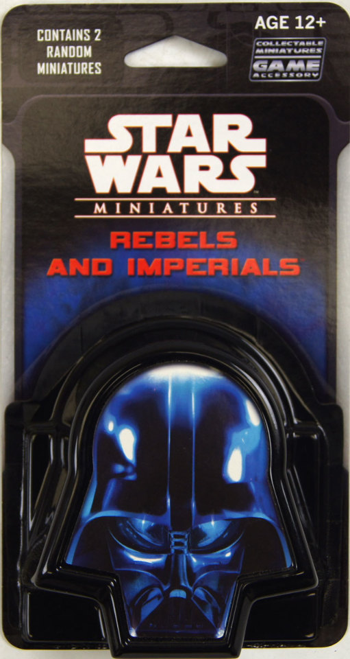 Star Wars Miniatures Rebels amp Imperials 2007 Booster Pack