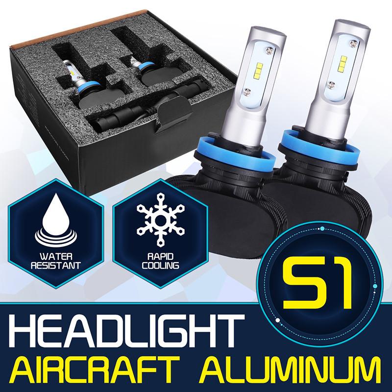 H7 CSP 50W 8000 Lumen LED Headlight Bulb Kit Yamaha YZF R1