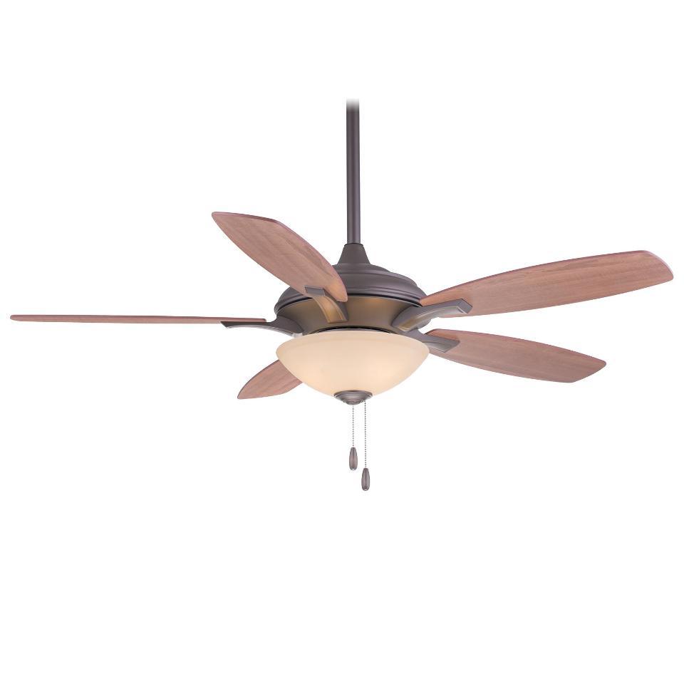 """Ceiling Fans W Lights: Minka Aire F470-ORB Oil Rubbed Bronze Hilo 52"""" Ceiling Fan"""