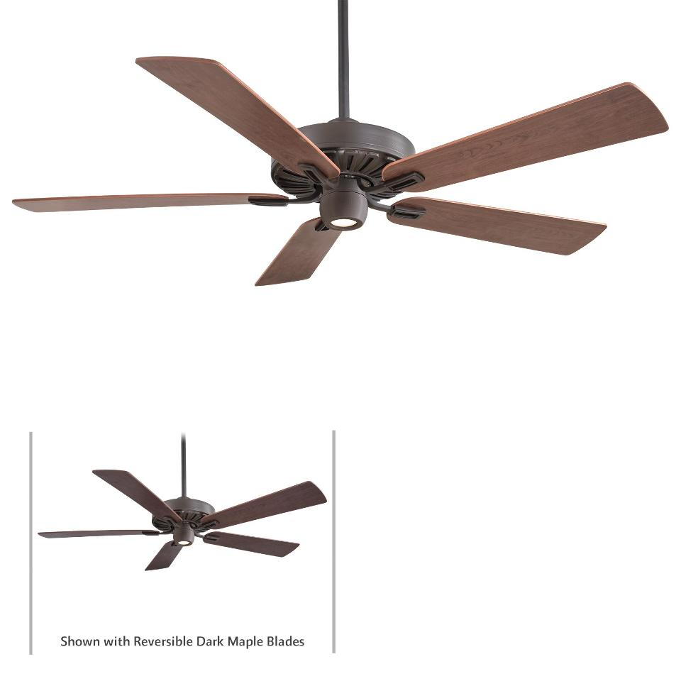 """Minka Aire F672 ORB Iconic Oil Rubbed Bronze 60"""" Ceiling"""