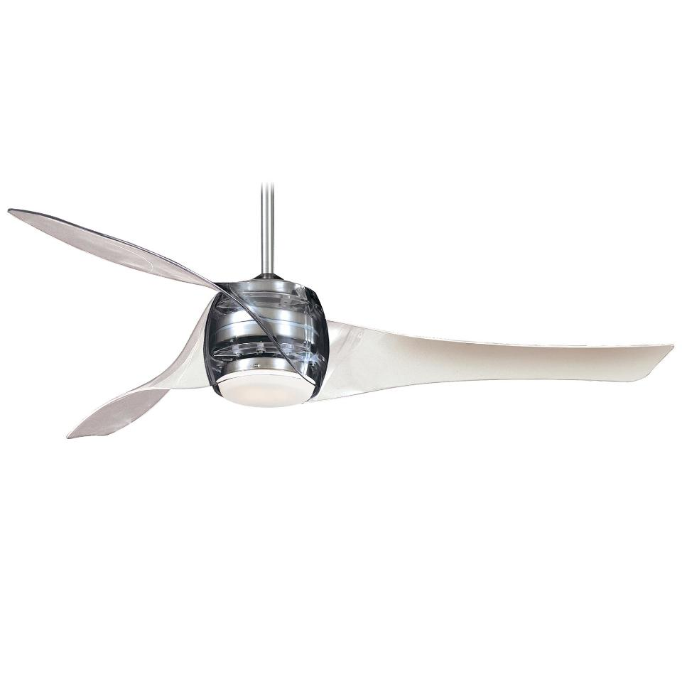 Minka Aire F803-TL Translucent Clear Artemis Ceiling Fan