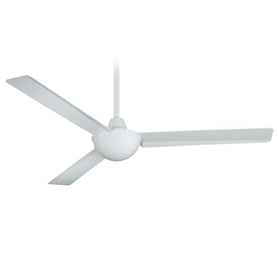 "Minka Aire F833-WH Kewl White 52"" Ceiling Fan W/Wall Control"