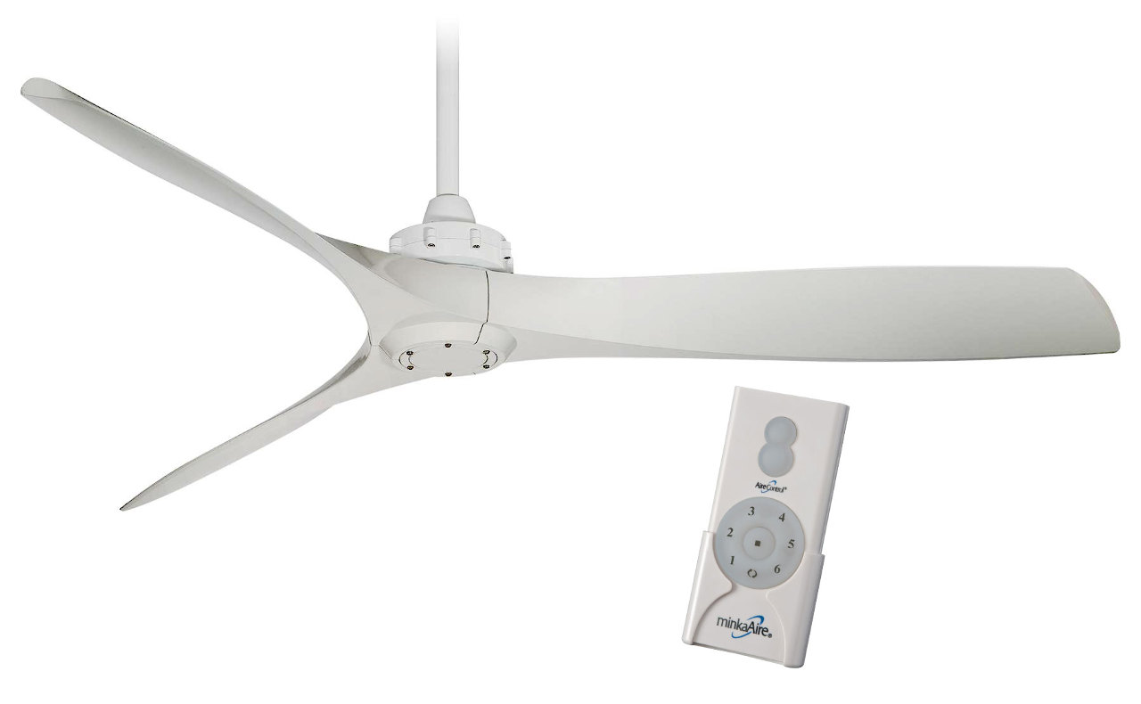 Minka Aire F853 Wh Aviation 60 Quot Ceiling Fan White W