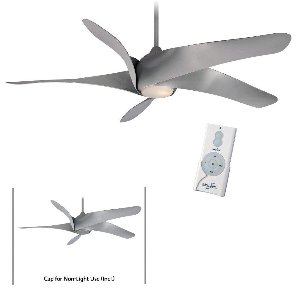 Minka Aire F905l Sl Silver Artemis Xl5 62 Quot Ceiling Fan W