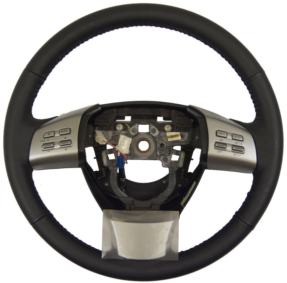 2010 Mazda Mazda6 Interior: 2009-2010 Mazda 6 Steering Wheel Black Leather New OEM W