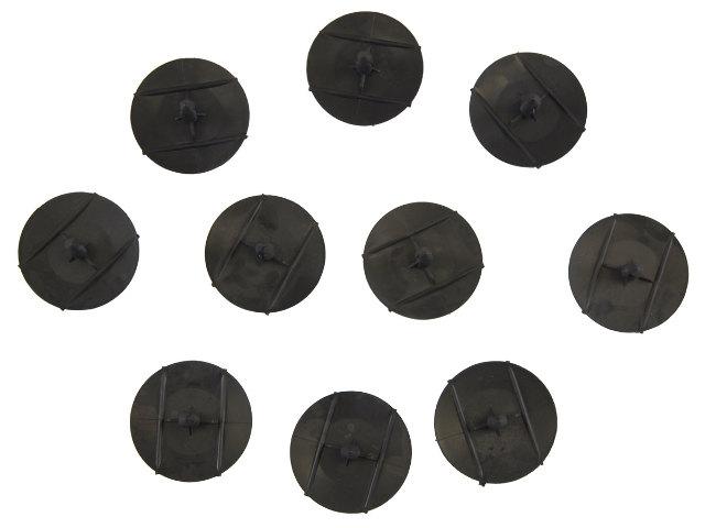 GM Push Pin Retainers New OEM Black Nylon Pack of 10 03078511 03958882