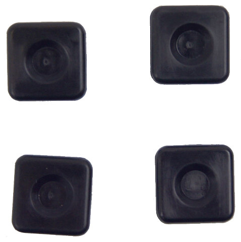 Gm Vehicles Rear License Plate Mount Nut Set Of 4 New Oem