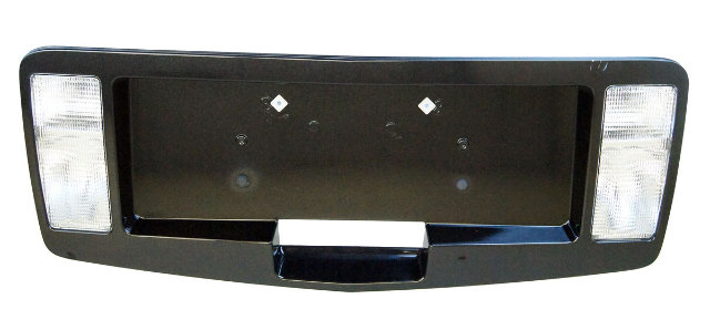 2004-2009 Cadillac SRX Rear Licence Plate Bezel Surround - Black
