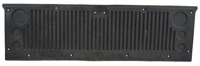 2003 Chevrolet Silverado Tailgate Protector Bedliner Panel Black Used 12490674