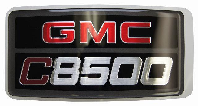 15012903 2003 2009 gmc topkick c8500 nameplate badge label decal model logo new 15012903 topkick kodiak original parts factory oem parts 1995 gmc topkick fuse box diagram at mifinder.co