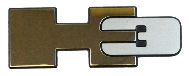 "2006-2010 Hummer H3/H3T Emblem 5"" Badge Decal New OEM 15094459"