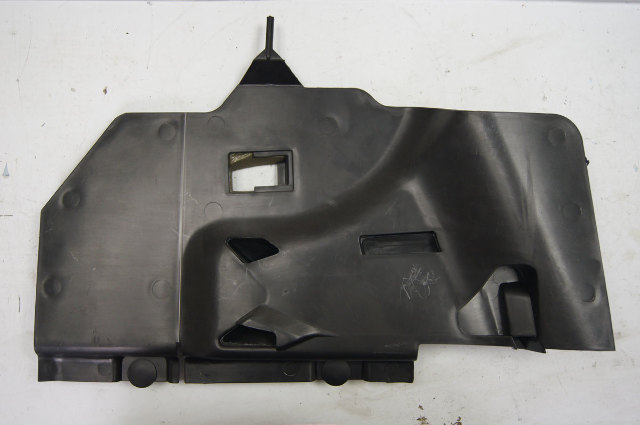 2005 2009 chevy corvette c6 right dash under panel black