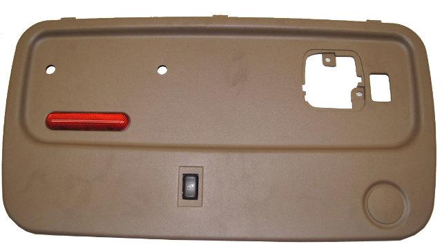 2003 Chevy Kodiak Lh Rear Door Panel Tan