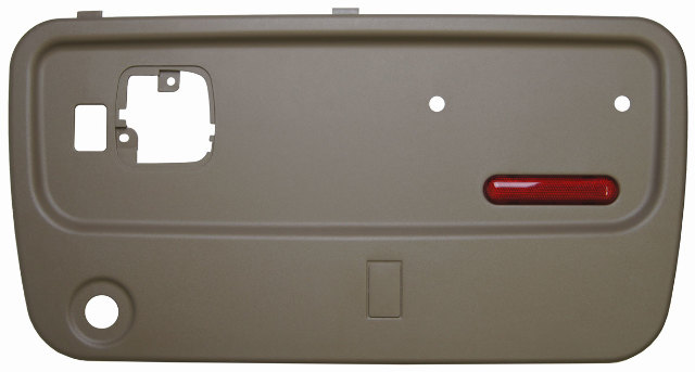 Manual Topkick Kodiak C C Rear Rh Door Panel Neutral W O Switch on 2001 Dodge Durango Exhaust System