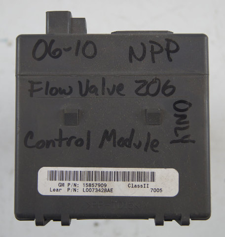 Used Corvette C Z L Npp Exhaust Vacuum Control System Module on C5 Corvette Fuel System Diagram