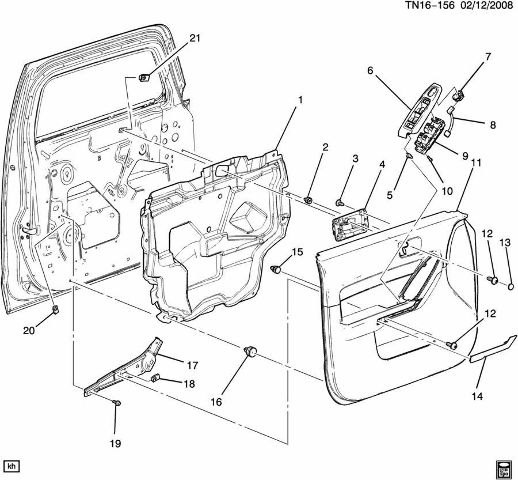 2003 hummer h2 sp205 diagram  parts  auto parts catalog and diagram