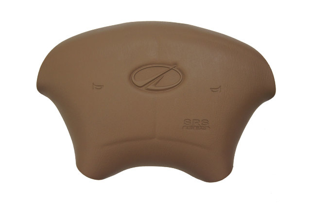 1998-2002 Oldsmobile Intrigue Steering Wheel Center Cover Brown Oak New