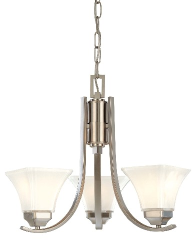 Minka Lavery 1813 84 Agilis 3 Light 1 Tier Mini Chandelier
