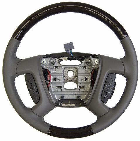 2013 2014 Enclave Traverse Acadia Steering Wheel Titanium