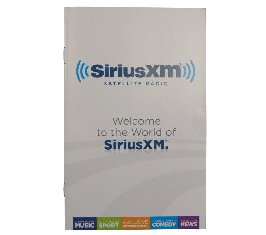 Chevy Buick GMC Cadillac SiriusXM Satellite Radio Welcome Owner Booklet 22880015