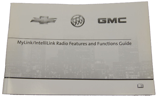 2012 GM Chevrolet Buick GMC MyLink / IntelliLink Radio Booklet New OEM 22912166