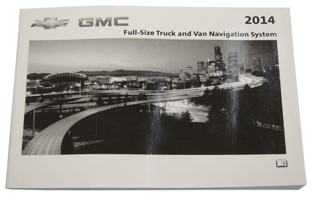 Chevrolet Gmc Trucks Vans Navigation System Owners Manual New Oem