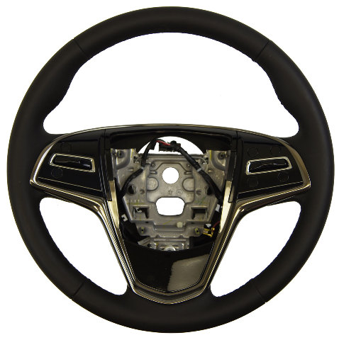 2013 2016 cadillac ats steering wheel black leather new oem 23360205 23193050 factory oem parts