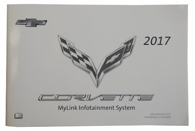 2017 Chevy Corvette C7 Mylink Infotainment System Manual