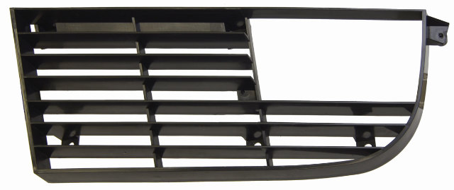 1975-1979 Chevrolet Corvette C3 Grille Left LH Black Plastic New 345487 2565L