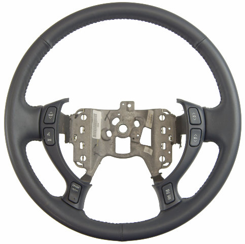 2004-2005 Cadillac Deville Steering Wheel Blue Leather New OEM 25769870 25748219