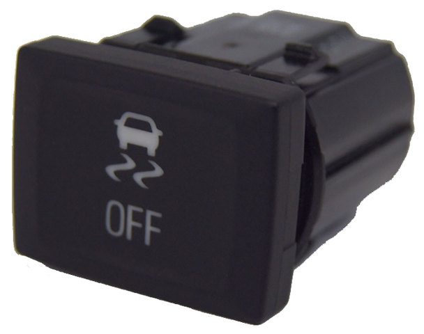 2010-2014 Equinox Terrain Traction Control Button Switch New OEM Black 25802919